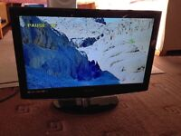 """Technika, lcd tv, 22"""" with in build dvd"""