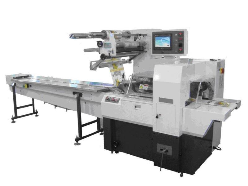 New EntrePack HT-1711 Horizontal Flow Wrapper for Large Products