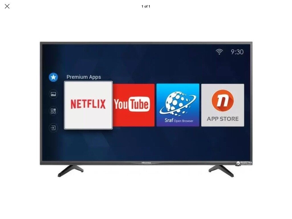 Hisense 40 inch LED Smart TV with WiFi, Anyview cast, Freesat HD & Freeview  HD | in Chadderton, Manchester | Gumtree