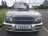 Isuzu trooper 3.0d manual 2002 full history pristine condition part x welcome