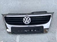 VW POLO MK8 2009-2013 Front Grill With Both Chrome Stripes