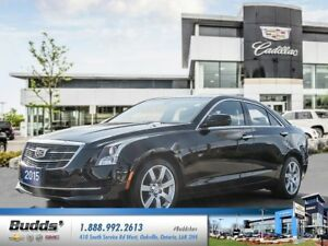 2015 Cadillac ATS 2.5L 0.9% for up to 24 months O.A.C.!
