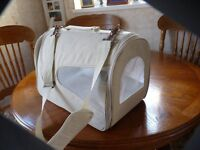 PET CARRIERS, SMALL, MEDIUM, LARGE, £7, £8, £10, EXCELLENT CONDITION, CAN DELIVER