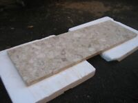 Fireplace composite marble hearth 1180 x 370 x 30mm £10