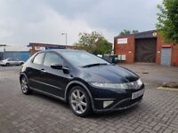 56 REG HONDA CIVIC SPORT 2.2 CDTI,6 SPEED MANUAL,1 FORMER KEEPER,07707755411
