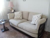 Ercol three seater sofa and one chair
