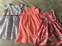 Girls age 7-8 Summer Dress Bundle