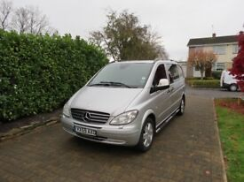 Mercedes Vito 115 CDi Compact Dualiner.