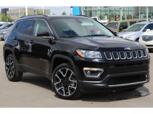 2017 Jeep Compass Limited 4x4| Pano Sun| Nav| Heat Leath/Wheel|