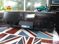 KENWOOD MULTIPLE CD PLAYER 200 DISC PLAYER PLUS 100 CD'S