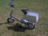 Folding Electric Assist Bicycle