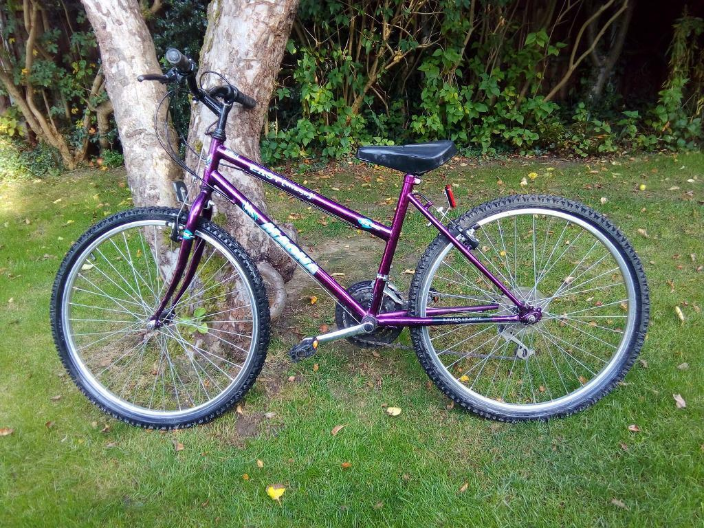 Child's purple bike