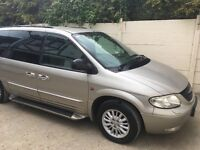 Grand voyager ltd can crda tax mot fully loaded
