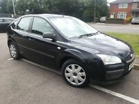 FORD FOCUS 1.6 LX 56 REG 5DR HATCHBACK BLACK