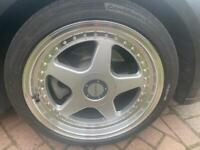 """5x112 5x120 alloy wheel 18"""" Mercedes bmw Audi Vauxhall VW"""