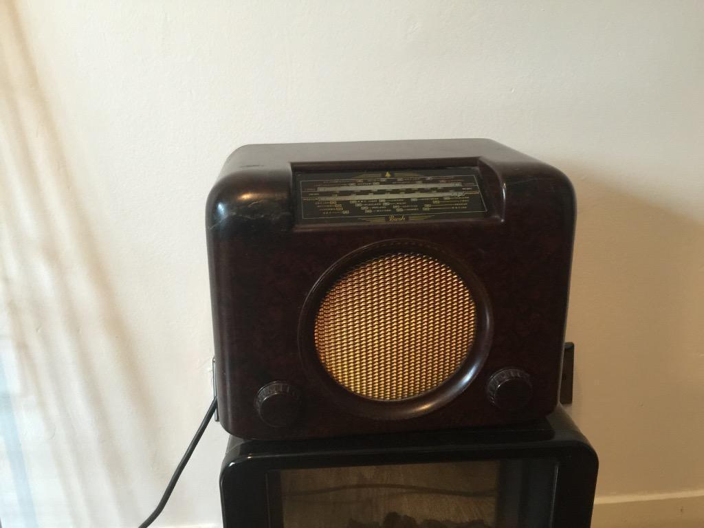 Radio 1950 1950s Bush Radio 90a