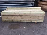 🌎New Tanalised Wooden Railway Sleepers @ £15 each