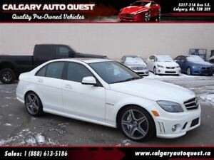 2009 Mercedes-Benz C-Class C63 AMG NAVI/LEATHER/ROOF