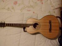 Vintage Viaten Tenor Guitar