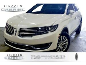 2016 Lincoln MKX SELECT+ AWD+CAMERA+CRUISE+PADEL SHIFT+JAMAIS