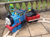 Thomas the tank ride on train - electric powered