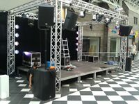 PA Hire, Backline and other professional audio visual equipment hire for all kind events.