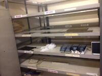 OFFICE RACKING AND DEXION SHELVING FOR SALE FROM £10.00 BUYER COLLECTS FROM ST HELEN'S MERSEYSIDE
