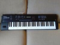 Roland Juno D 61 note synth/arranger keyboard for sale