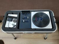 PS3 Dj Hero in steel carry case and game.