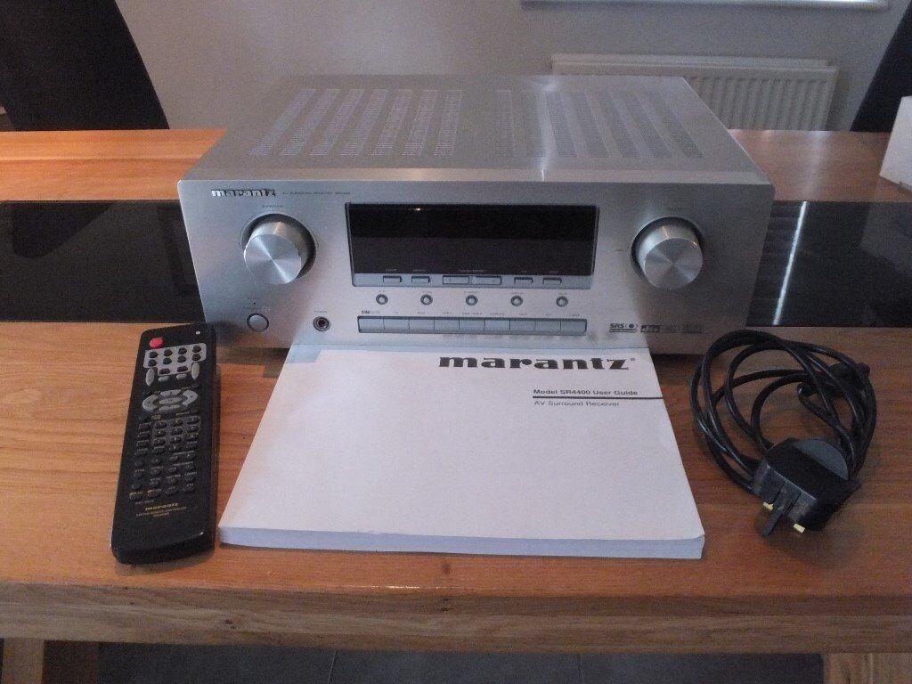 Marantz SR4400 : 6.1 + 80W per channel, AV Surround Sound Receiver / Amplifier