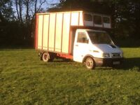 Iveco daily 3.5t horse box