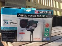 Electric 240v Cable Winch & Swing Arm
