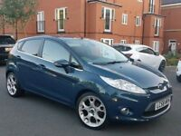 58 2009 FORD FIESTA 1.6 TDCI TITANIUM SPEC - FULL LEATHERS - PX WELCOME