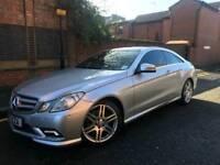 Mercedes-Benz e class coupe e250 automatic