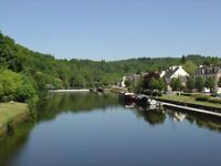 France, Brittany 4 stars riverside holiday rental, centre of picturesque village