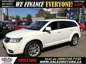 2013 Dodge Journey SXT 7 SEATER SUNROOF 101KM  1 OWNER