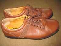 Two Pairs of Leather Shoes both Size 8.5 - £10.00 each or both pairs for £17.00