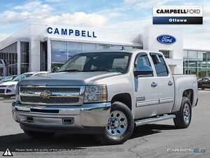 2012 Chevrolet Silverado 1500 LS 44,000 KMS-LOADED-4X4-NEW PRICE