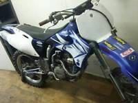 Yamaha YZ426F crosser with mods