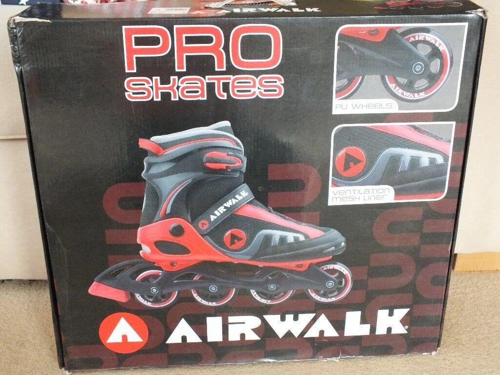 Airwalk Pro Inline Skates Size UK 9 EU 43 - NOW £20  a313199e7759
