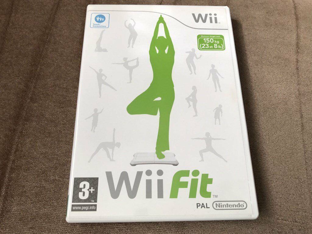 NINTENDO Wii FIT, GAME ONLY, IN VERY GOOD CONDITION.