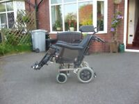 I. D. TILTING WHEELCHAIR