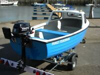 ROWING FISHING DINGHIES - TOP QUALITY BRITISH BUILT UK WIDE DELIVERY - SHOW DEALS AND DISCOUNTS