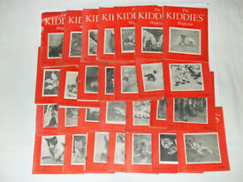 The Kiddies Magazine (28 copies dated 1950s)