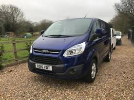 FORD TRANSIT CUSTOM LIMITED! SUPERB CONDITION!!