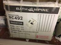 2 brand new radiators