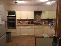 Painted Country Cream Solid Wood Kitchen
