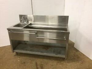 Bar / Cocktail Sink - Commercial Under Counter Sink - iFoodEquipment.ca