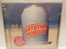 The Best Summer Holiday Ever. 2 CD Set. Used