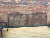 10ft Wide Wrought Iron Driveway Gates- All Hinges & Brackets